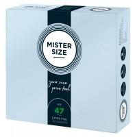 Mister Size vékony óvszer - 47mm (36db)