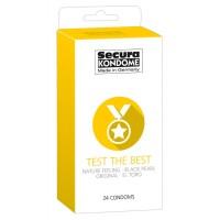 Secura Test the Best - óvszer válogatás (24db)