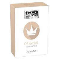 Secura Original - áttetszõ óvszerek (3db)