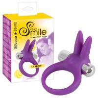 SMILE Rabbit - vibrációs péniszgyûrû (lila)