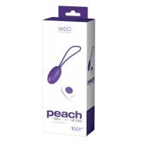 VeDO Peach - akkus, rádiós vibrációs tojás (lila)