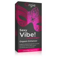 Orgie Sexy Vibe Orgasm - folyékony vibrátor nõknek és férfiaknak (15ml)