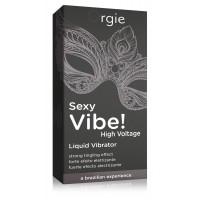 Orgie Sexy Vibe High Voltage - folyékony vibrátor nõknek és férfiaknak (15ml)