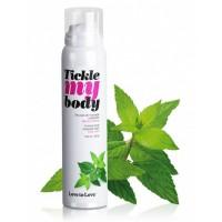Tickle my body - masszázs hab - menta (150ml)