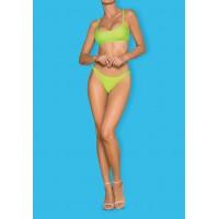 Obsessive Mexico Beach - sportos bikini (neonzöld) S