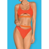 Obsessive Miamelle - pántos sportos bikini (narancs) S