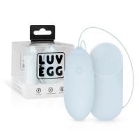 LUV EGG - akkus, rádiós vibrációs tojás (kék)