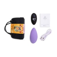 FEELZTOYS Panty - akkus, rádiós csiklóvibrátor (lila)